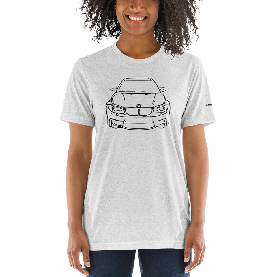 BMW 1M (E82) Short Sleeve T-Shirt - Classic - xoem