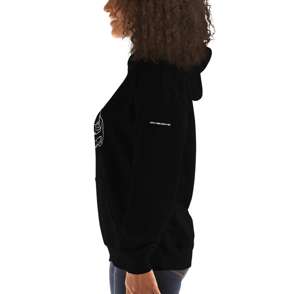 BMW 1M (E82) Hooded Sweatshirt - Classic - xoem