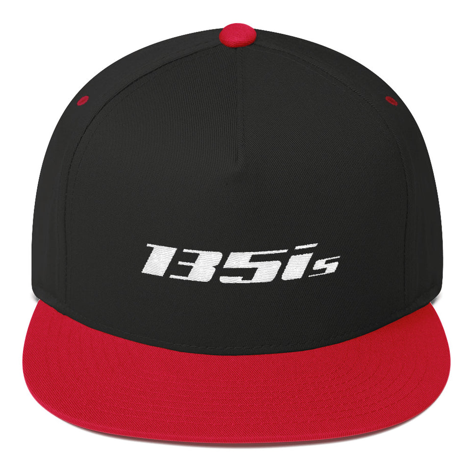 135is Flat Bill Cap - xoem