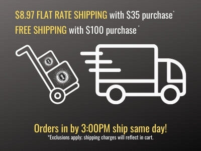 Fast Shipping - Flat Rate and Free Shipping