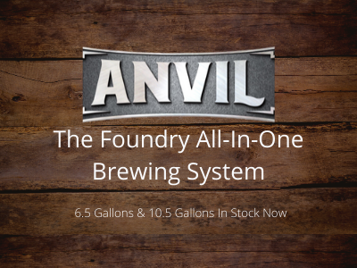 Anvil Foundry All In One Brewing System - BrewSRQ - Florida Homebrew Supply - Florida Homebrewing