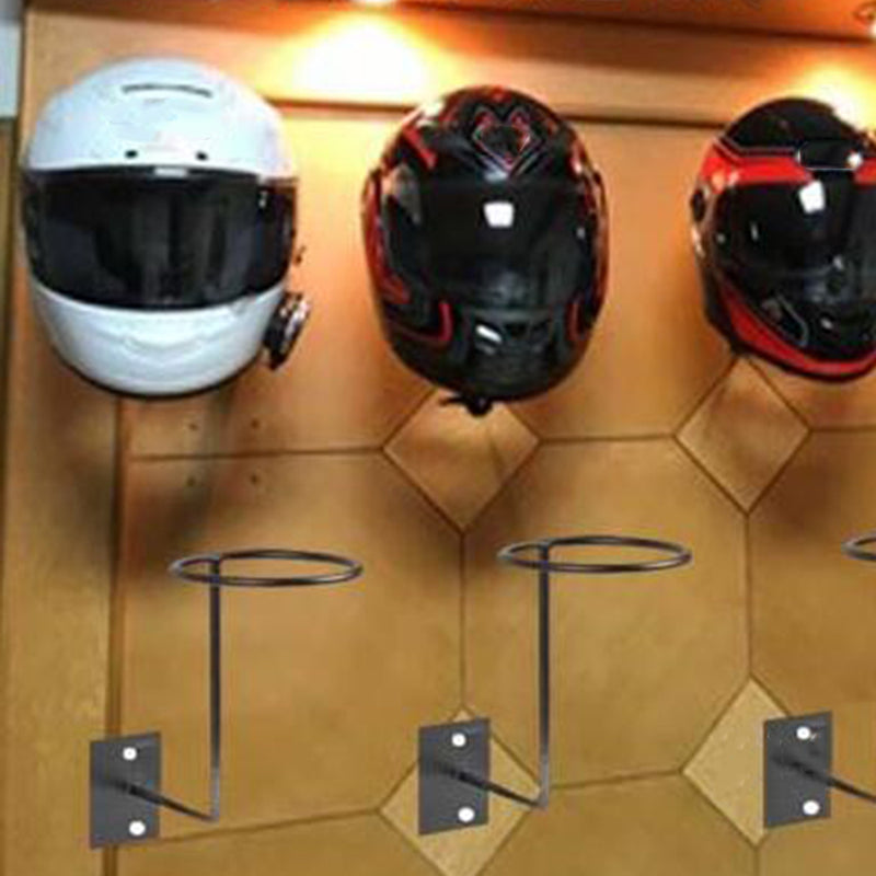 Aluminum Motorcycle Helmet wall mount Holder stand