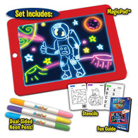 3D Light Up Magical Coloring Board For Kids