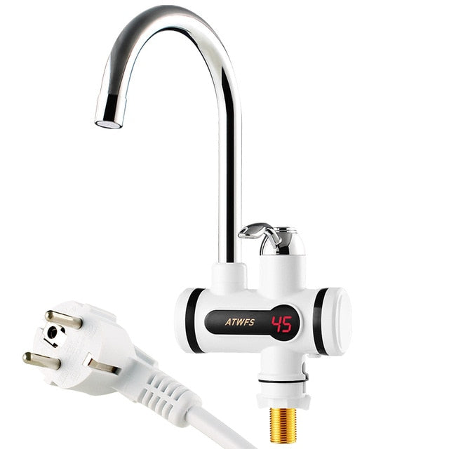 Instant Heating Cold & Hot Water Digital Faucet