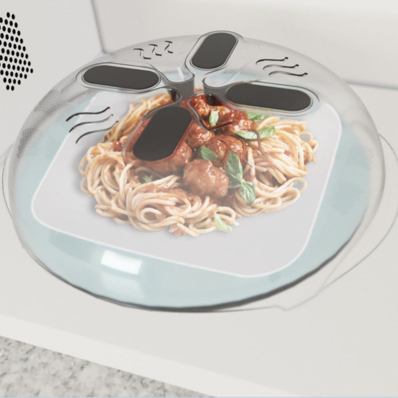 Magnetic Food Splash Guard for Microwave oven
