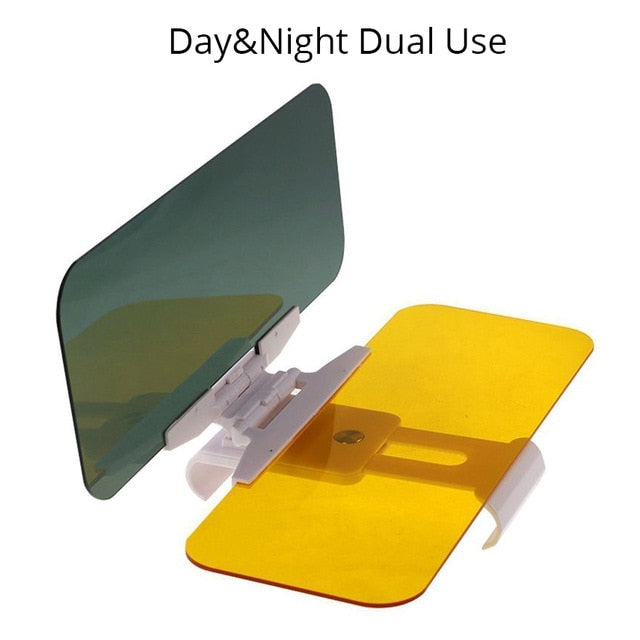 2 in 1 Dazzling Goggle Day & Night Vision car Visor