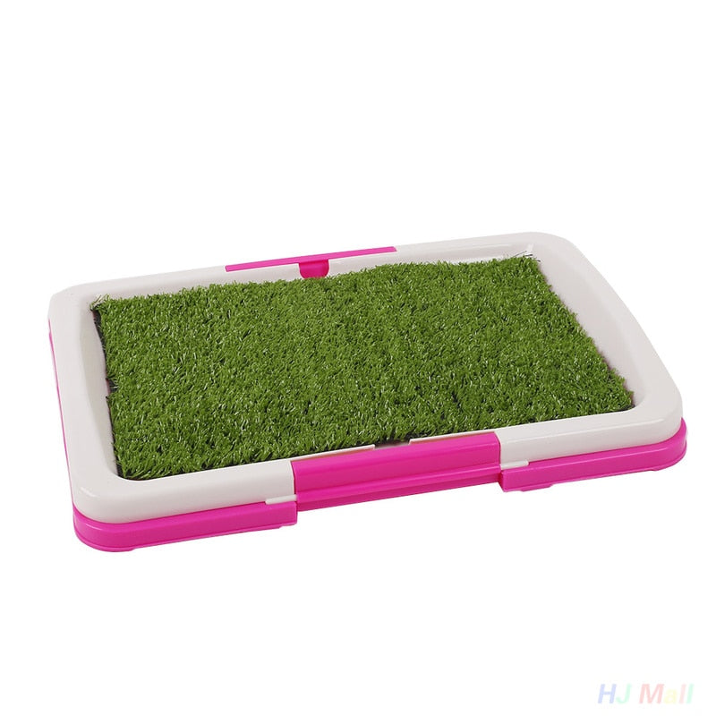 Potty Pet Toilet Training tray Mat with Grass - Happy Panda