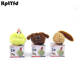 Pet Dog Funny Electric Toy Squeaky Bouncing Ball - Happy Panda