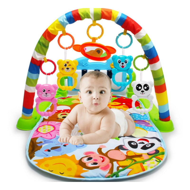 Kids Fitness playmate Toys with Piano Music - Happy Panda