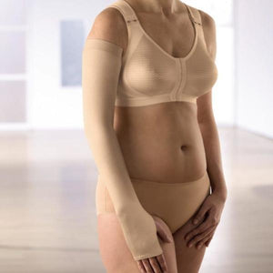 Anita Care Lymph-O-fit Bra Front Fastening - Skin 1100.  Medical Compression Garment for Lymphoedema.