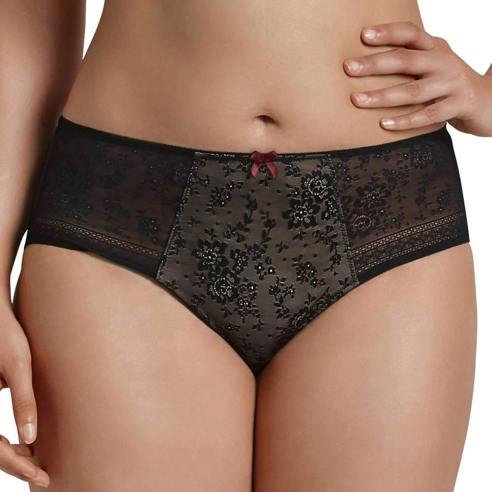 Anita Fleur High-Waist Brief - Black 1355