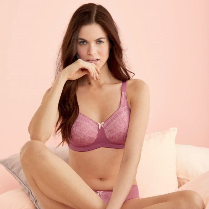 Anita Care Fleur Wire Free Mastectomy Bra - Rose Violet 5754X Seasonal Colour - Limited Release (allow 2-3 weeks for delivery)