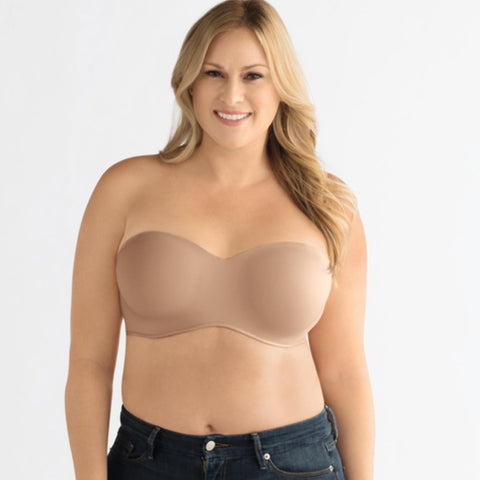 Amoena Barbara Strapless Underwired  Mastectomy Bra - Nude 0457