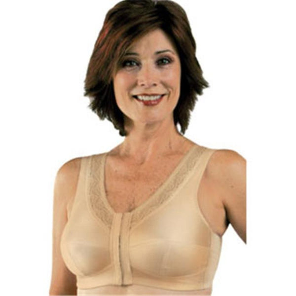 Classique Post Mastectomy Front Closure Bra - Beige 793