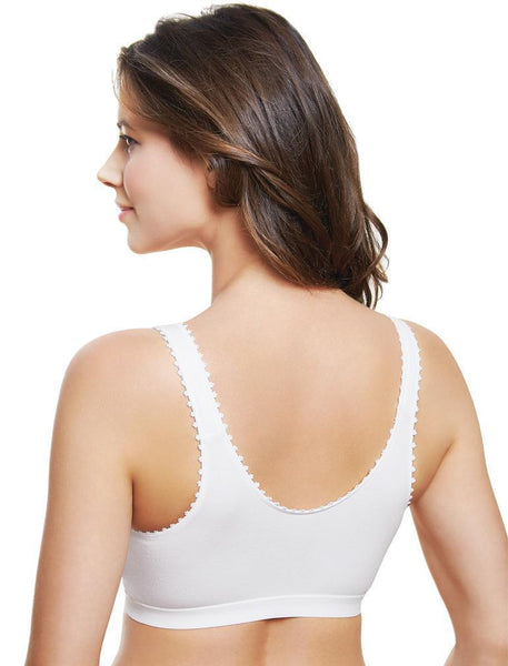 Royce Comfi Front Closure Mastectomy Bra  - White 1010
