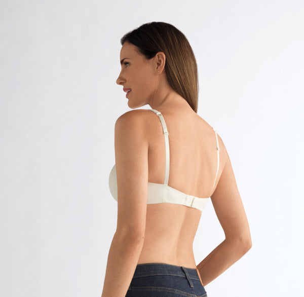 Amoena Lara Mastectomy Bra -  Off-White 752