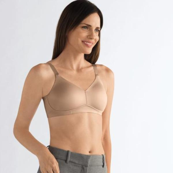 Amoena Magdalena Soft and Smooth Mastectomy Bra - Nude 0463