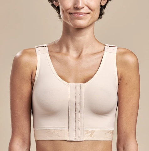 Marena-B01G-FlexFit-Beige-Post Surgery Compression Bra