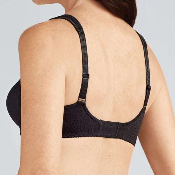 Amoena Mona Soft Cup Mastectomy Bra - Black 591