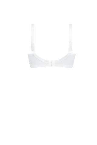 Amoena Nancy Wirefree Mastectomy Bra - White 44480
