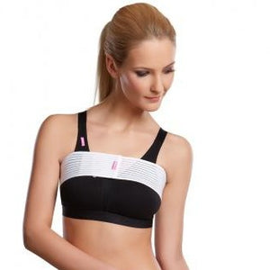 Lipoelastic SI Special Breast Binder - White