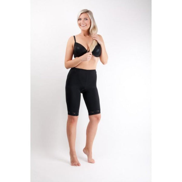Lipoelastic TF Comfort Post Surgical Compression Garment - Black