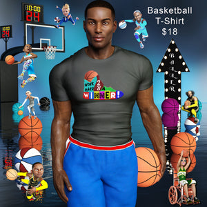Basketball Shoe Short-Sleeve Unisex T-Shirt
