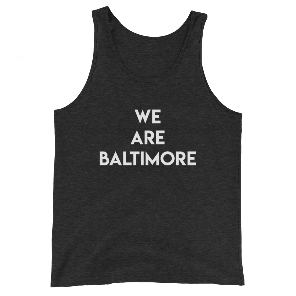 Baltimore Unisex  Tank Top