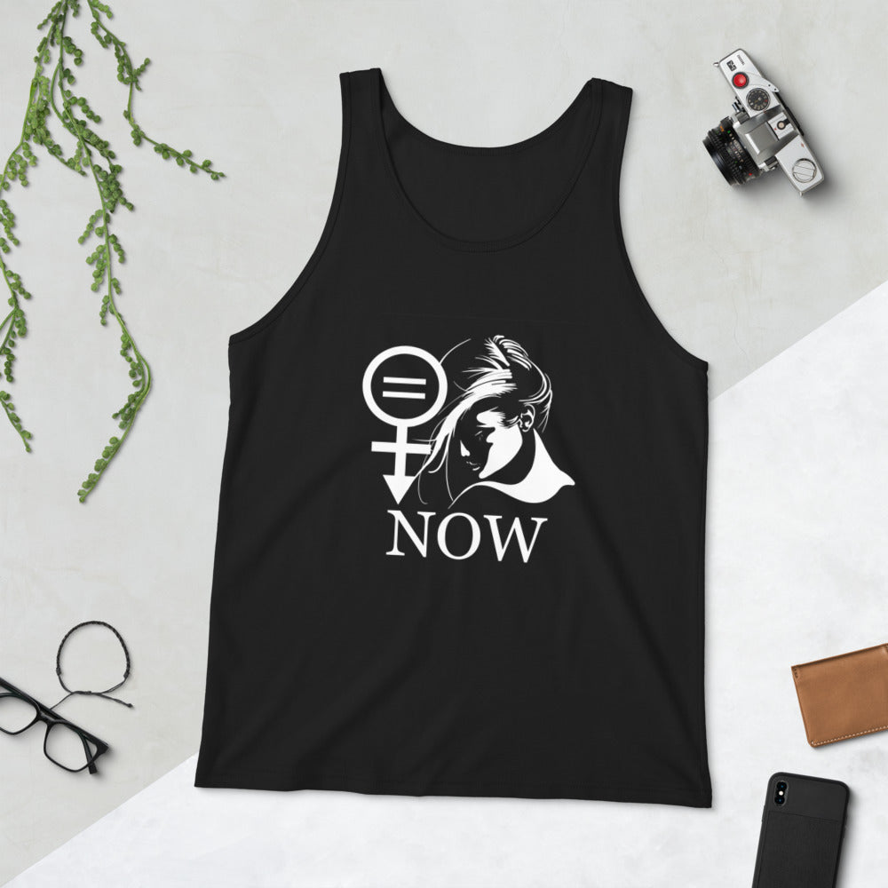 Female Equality Unisex  Tank Top