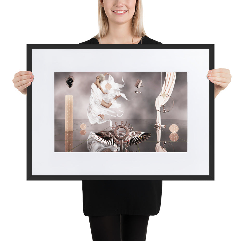Female Equality Matte Paper Framed Poster With Mat