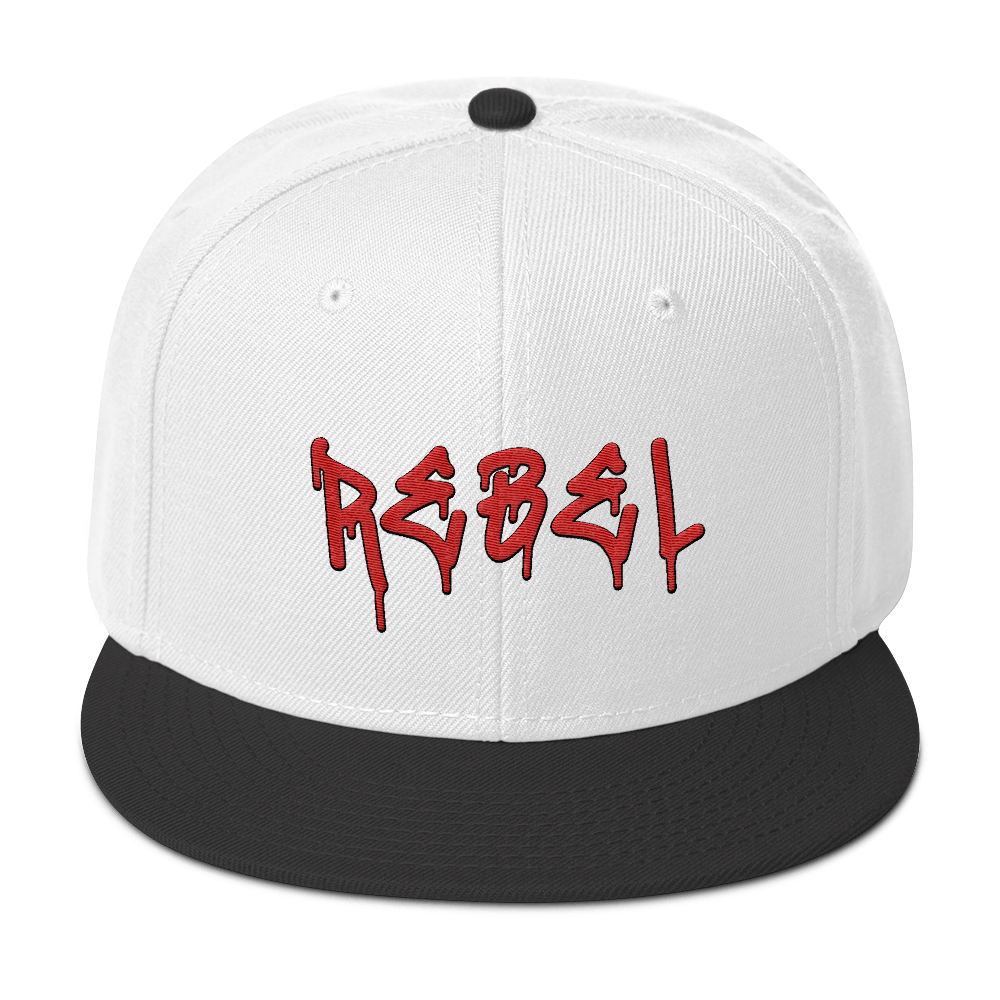 Rebel Snapback Hat