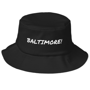 Baltimore Old School Bucket Hat