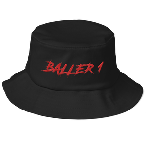 Baller 1 Old School Bucket Hat