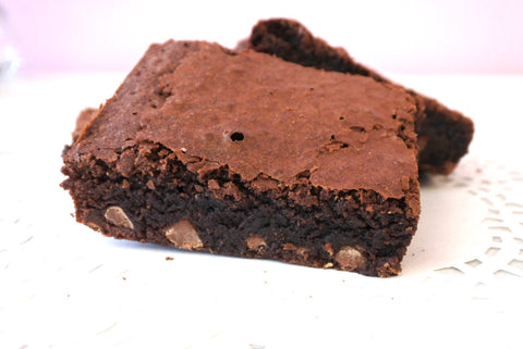 Homemade Double Chocolate Brownies