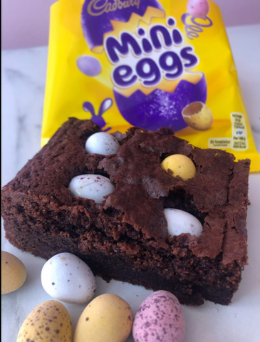 Mini Egg Homemade Brownies