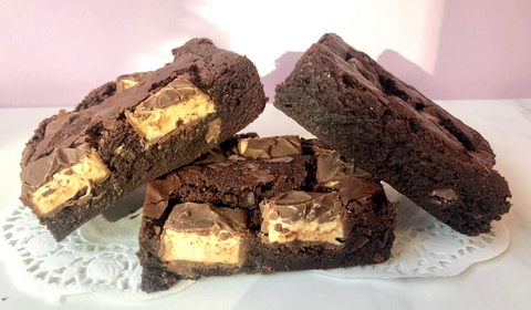 Home Made Milkyway Brownies