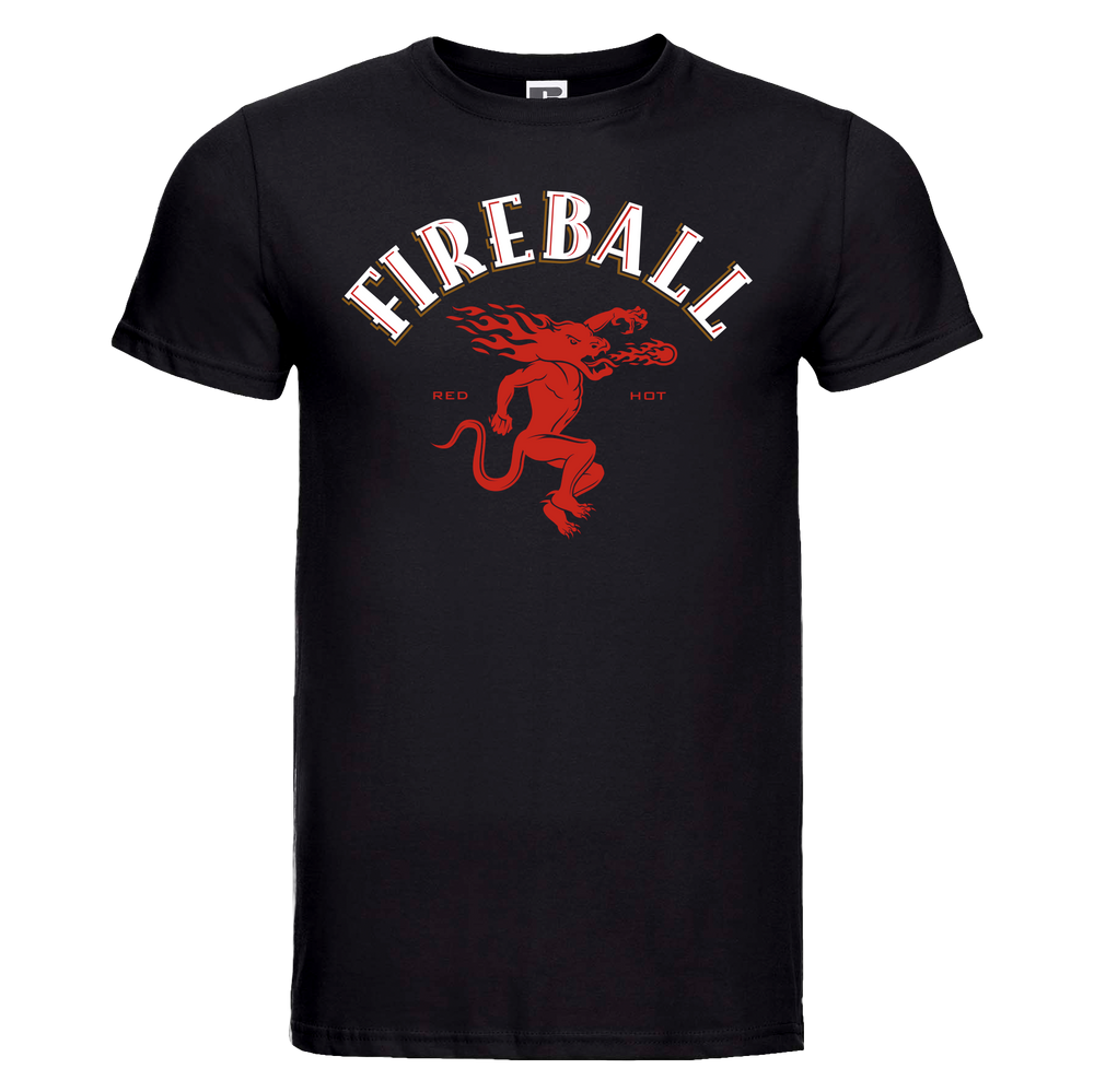 Svart T-shirt Fireball