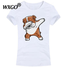 Load image into Gallery viewer, New French Bulldog Tshirt Women T Shirt Short Sleeve