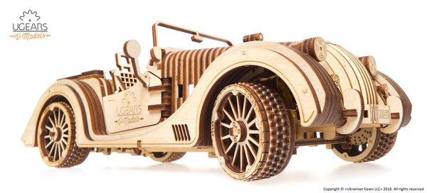 UGEARS: Roadster Cabrio
