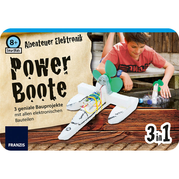 Franzis: Smart Kids Metall-Box Powerboote