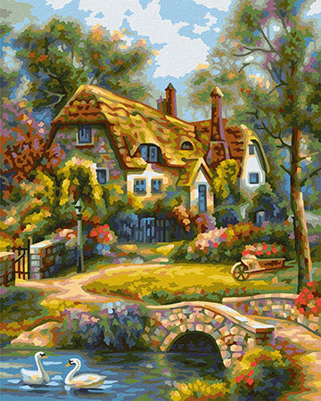 Schipper: Old English Cottage