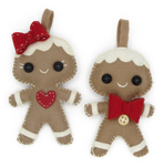 Hardicraft: Wollfilz Gingerbread Couple