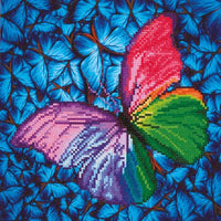 Diamond Dotz: Schmetterling bunt