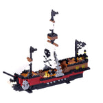 Nanoblock: Piratenschiff