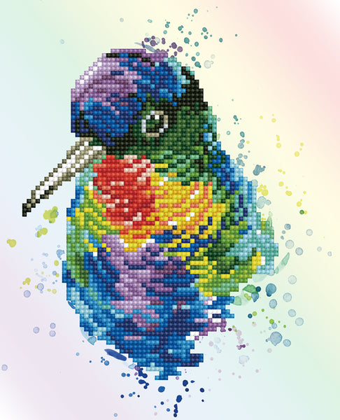 Diamond Dotz: Regenbogen Vogel