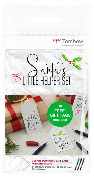 Tombow: Santa's little helper-Set