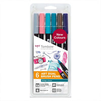Tombow: ABT-Brush-Pen 6er Set vintage colours