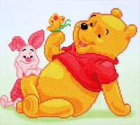 Diamond Dotz: Disney Winnie Pooh with Piglet