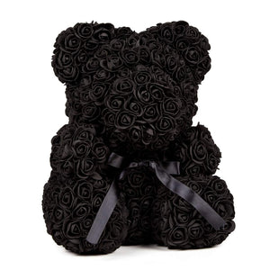 rose bear black