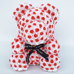 Red Rose Bear (New Style)
